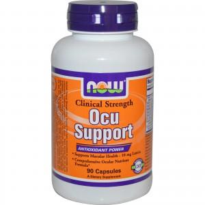 NOW-Ocu-Support витамины для глаз