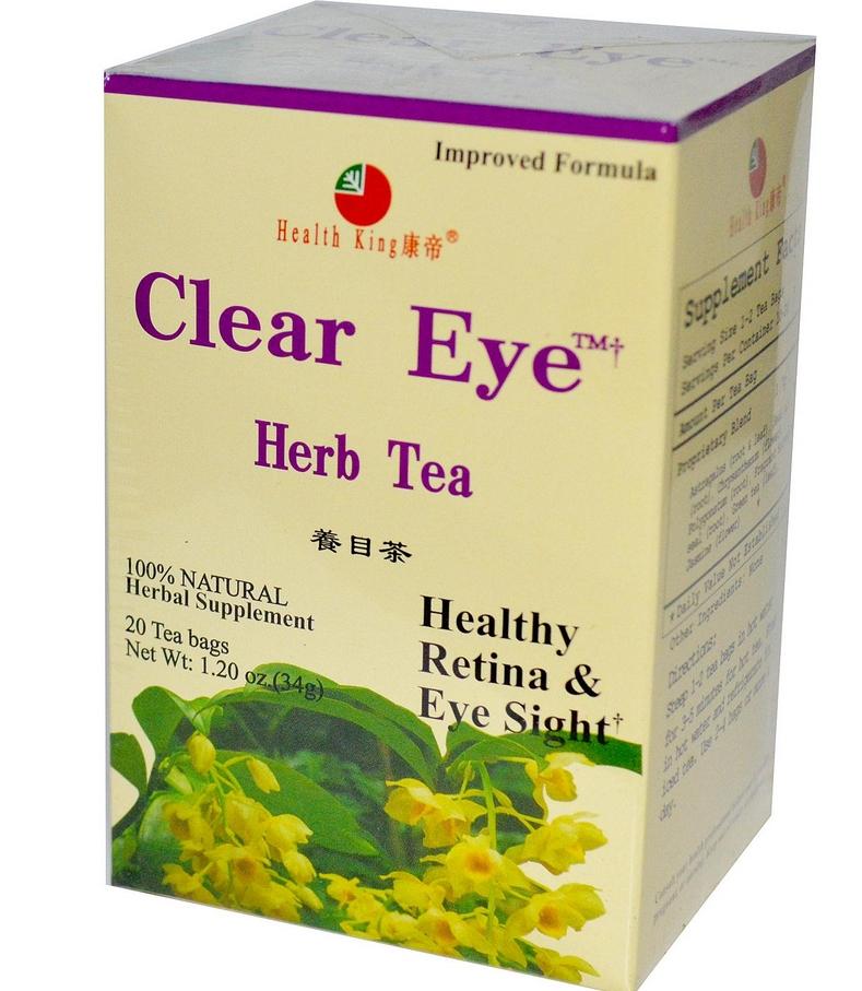 Мешки под глазами как избавиться - чай