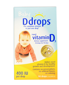 Витамин D в каплях для малышей