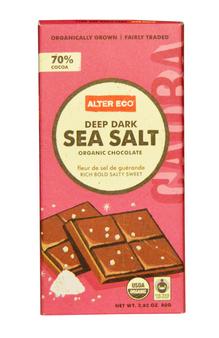 Шоколад с морской солью для подарка