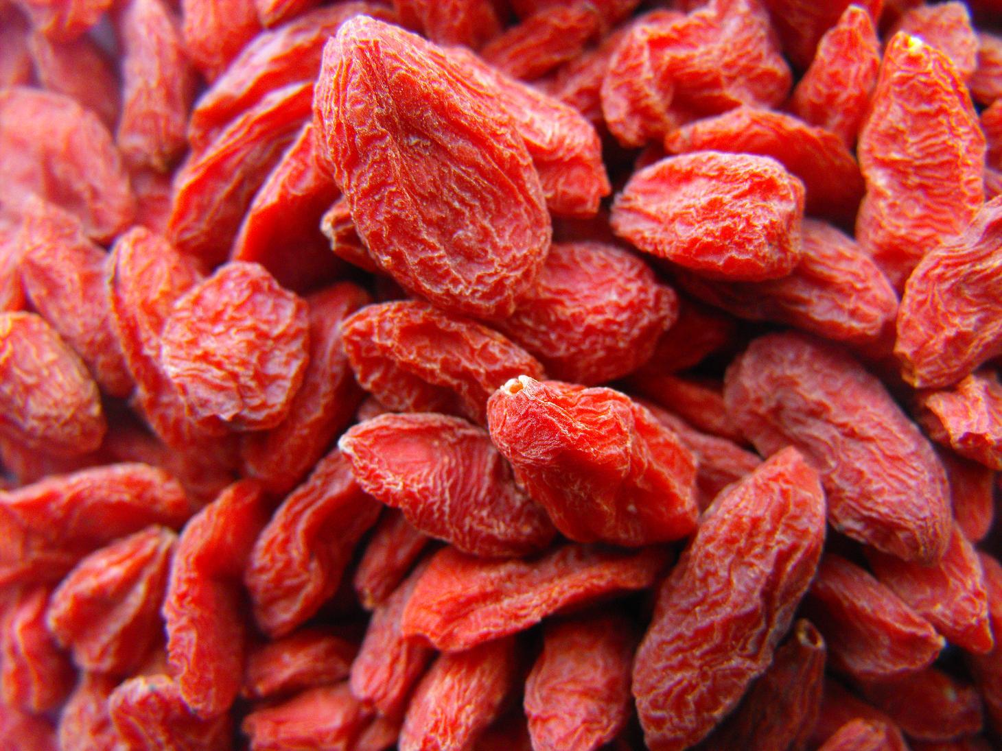 ягоды годжи в сушеном виде