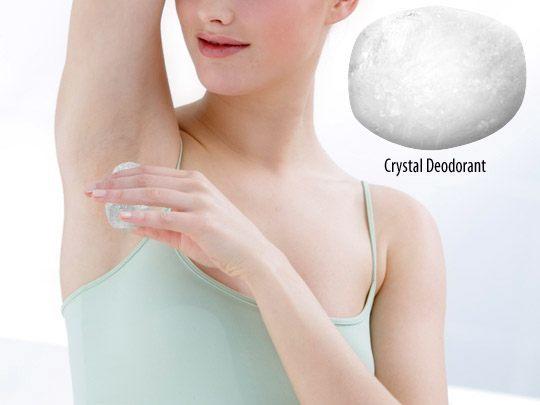как пользоваться дезодорантом кристаллом
