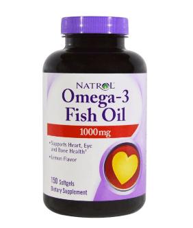 Рыбий жир в капсулах от Natrol