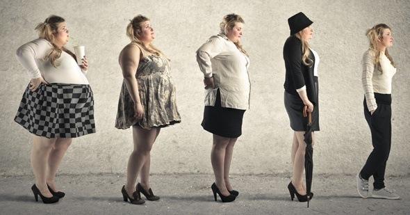 Самый наибольший сброс веса происходит в первую фазу