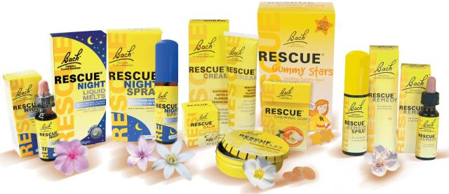 Серия цветочных эссенций Rescue Remedy