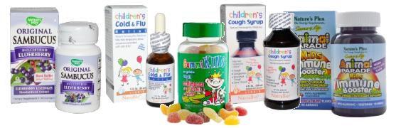 Вкусные средства от гриппа