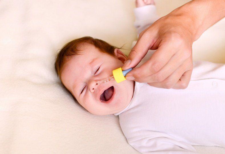 Как вылечить насморк быстро у грудного ребенка