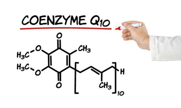 Коэнзим Q10 - химическая формула