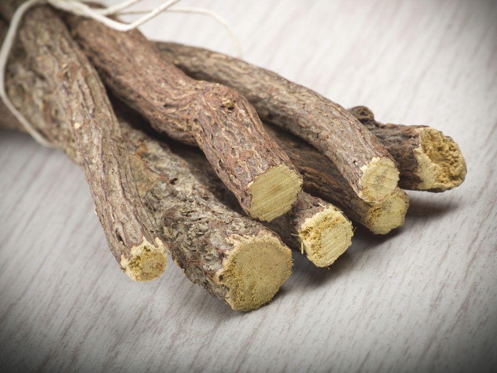 Лакрица или солодка - корень и нижние части стебля