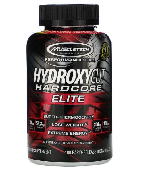 Hydroxycut,  Performance Series, Hydroxycut Hardcore Elite, 180 Rapid-Release Thermo Caps