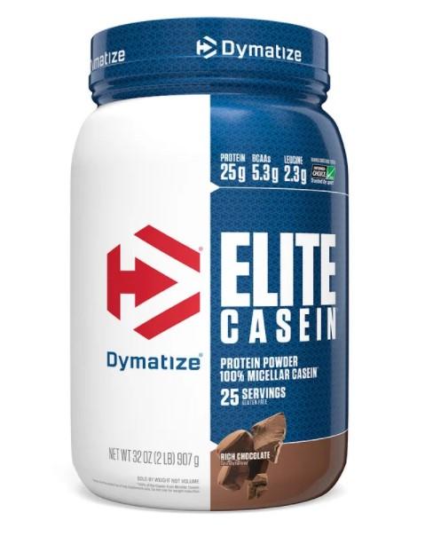 Dymatize Nutrition, Elite Casein, насыщенный шоколад, 907 г