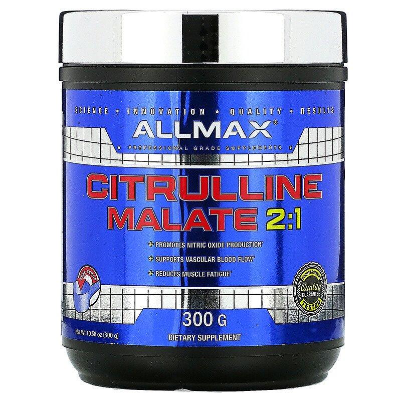 ALLMAX Nutrition, цитруллина малат, с нейтральным вкусом (300 г)
