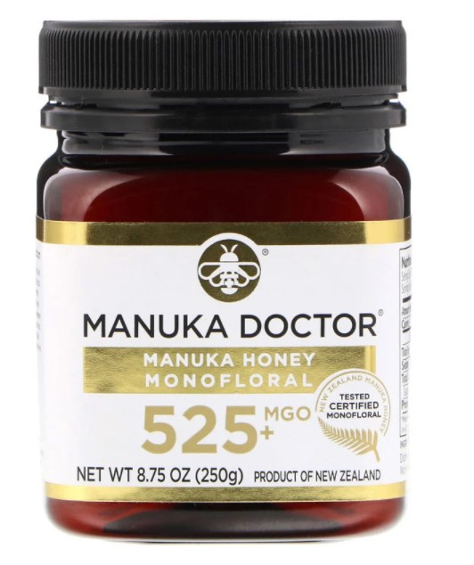 Manuka Doctor, Монофлерный мед манука, MGO 525+, 250 г (8,75 унции)