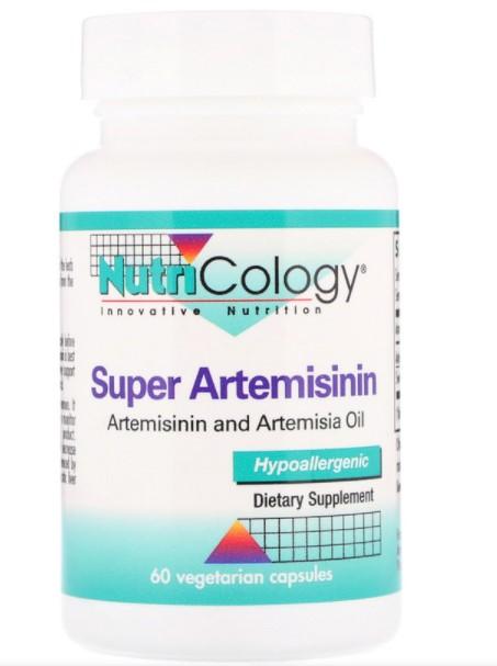 Nutricology, Супер-артемизинин, 60 растительных капсул (Discontinued Item)