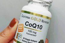 Коэнзим COq10 от California Gold Nutrition: как помочь сердцу