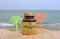 Витамины от Солгар Бета каротин помогут вывести токсины из организма и получить красивый загар