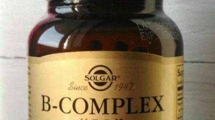 Солгар B-Complex – спонсор здоровья и спокойствия нервной системы