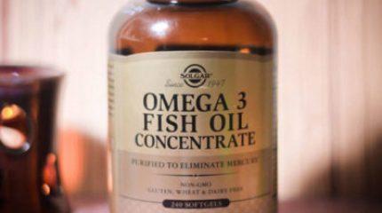 Концентрат Омега-3 от фирмы Солгар – идеальное решение для укрепления здоровья