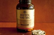 Рутин от Солгар в таблетках – защита от сосудистых заболеваний