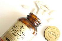 Витамины от Солгар «кожа волосы ногти»: полезные свойства и состав
