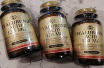 Таблетки гиалуроновой кислоты Solgar – защита от артрита, потери зрения и морщин